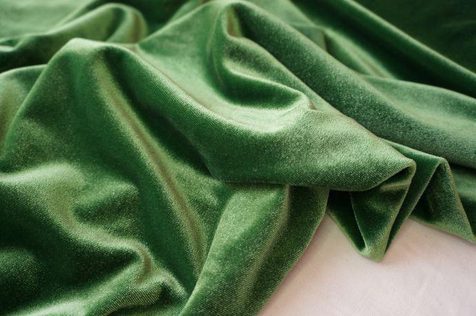 Бархат светло-зеленый