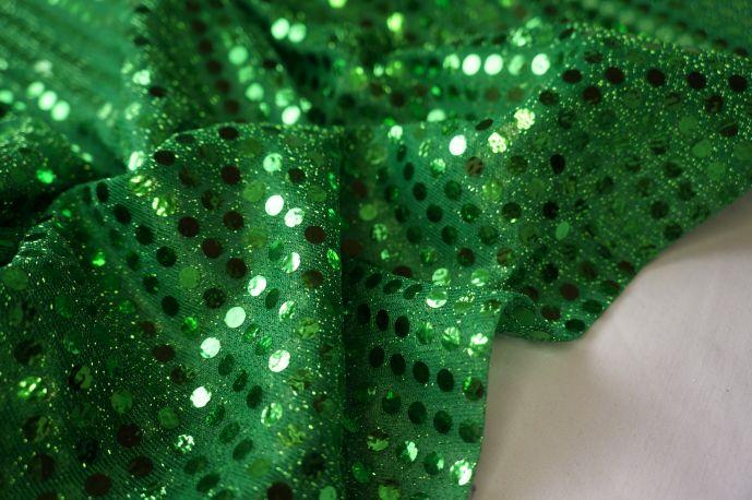 Диско зеленый