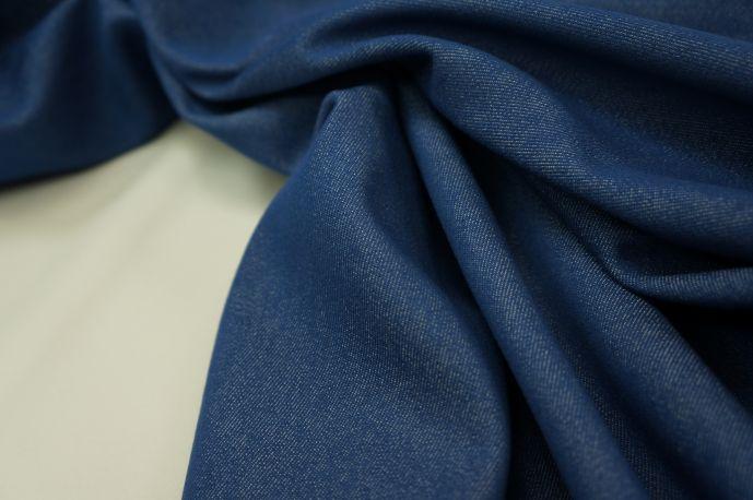 Джинс темно-синий средней плотности