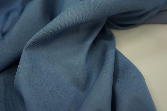 Джинс Тенсил рубашечный сине-голубой