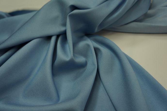 Джинс Тенсил рубашечный ярко-голубой