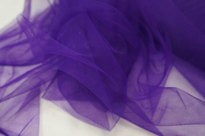 Фатин мягкий фиолетовый