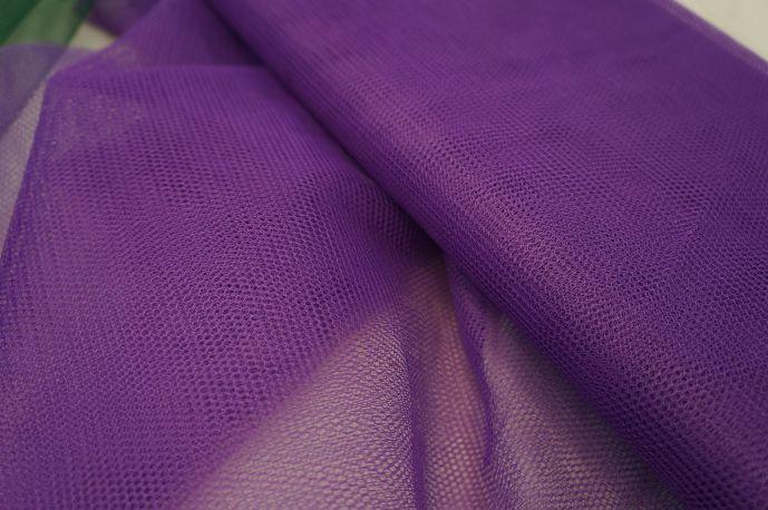 фатин жесткий фиолетовый