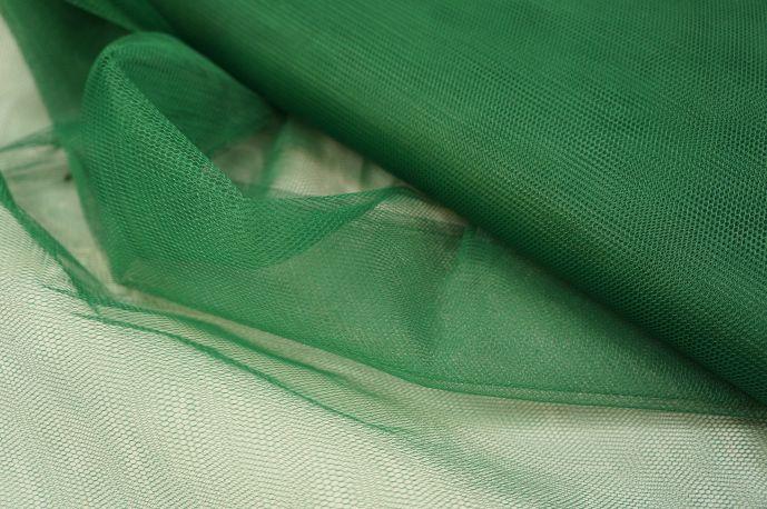 Фатин жесткий зеленый