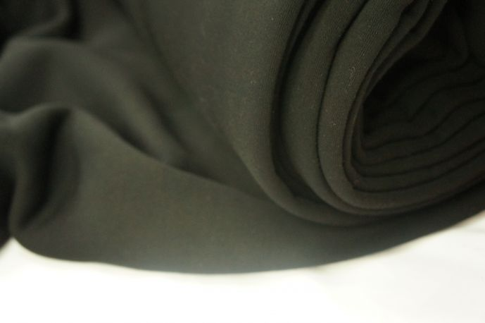 Футер 3-х нитка с начесом черный