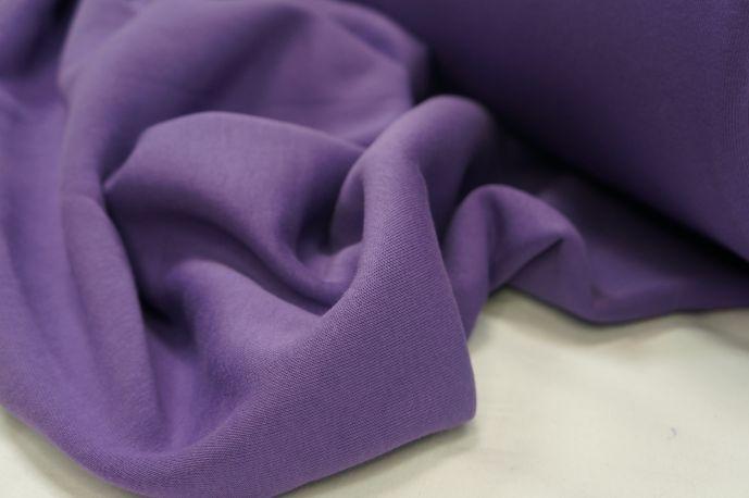 Футер 3-х нитка с начесом фиолетовый