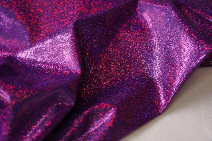 голограмма фиолетовый мелкая крошка