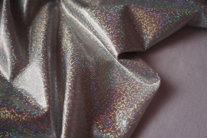 голограмма серебрянные мелкая крошка