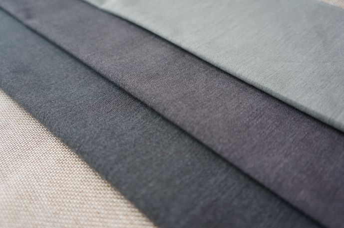 костюмная вискоза 12 оттенки серого