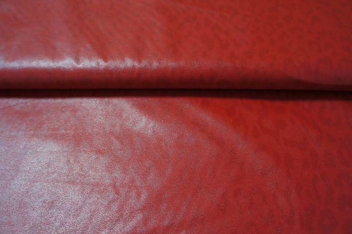 Экокожа 12 красный