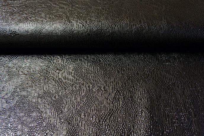 Экокожа 15 черный с рисунком