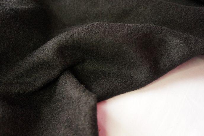 Пальтовая шерсть черный  20-10