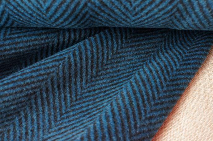 пальтовая шерсть елочка 17