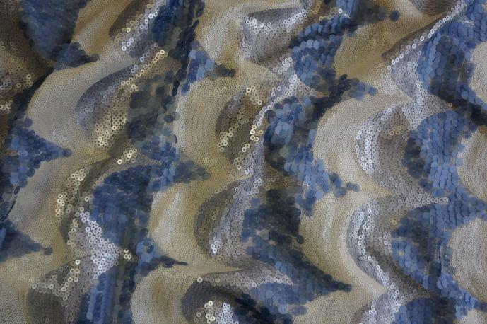 пайетки волная 13