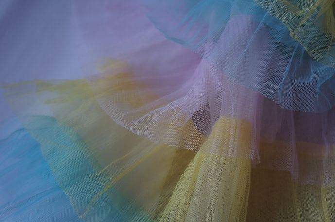 плательная ткань с рюшами из фатина6