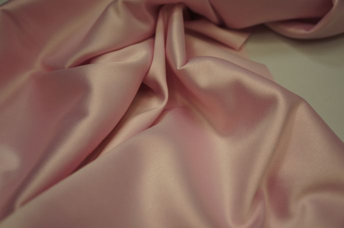 Русский атлас сатин розовый