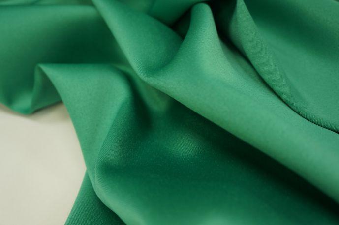 Русский атлас сатин зеленый насыщенный