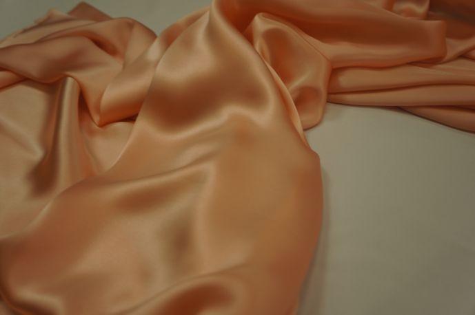 Шелк натуральный пудра розовая