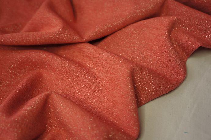 трикотаж с люрексом розовый 4