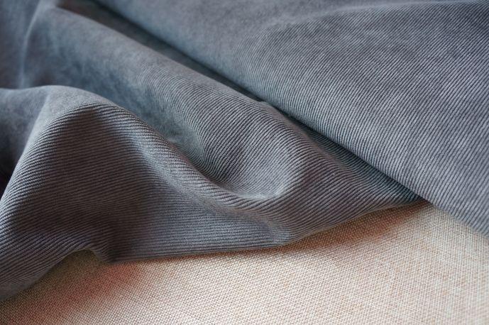 Вельвет 20-3 серый