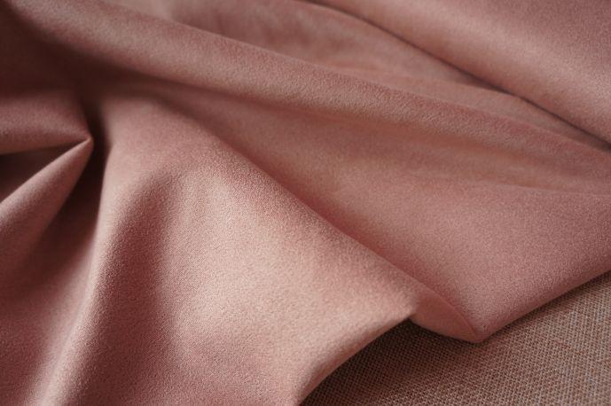 Замша 20-3 розовая пудра