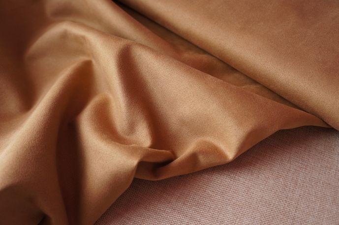 Замша 20-7 светло коричневый