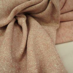 Ангора  с люрексом нежно-розовый