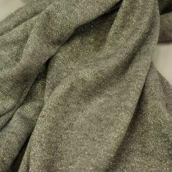 Ангора с люрексом серый