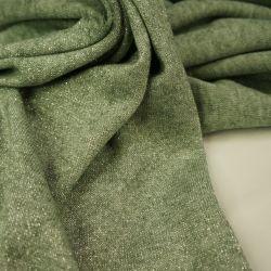 Ангора с люрексом зеленый осенний
