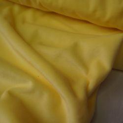 Бархат светло желтый хлопковый