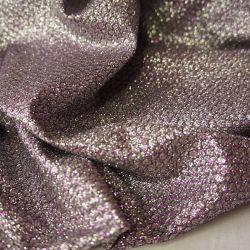 Блеск хамелеон серебро-розовый