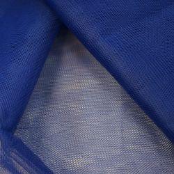 Фатин жесткий синий
