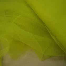 фатин жесткий желтый