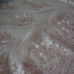 гипюр 129 нежно розовый