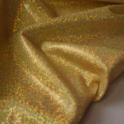голограмма золотистый мелкая точка