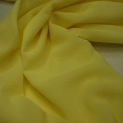 Креп-шифон лимонный