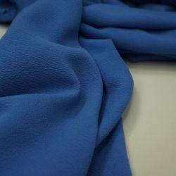 Креп шифон сине-голубой