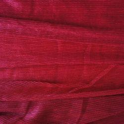 люрекс плиссе красный1
