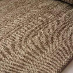 пальтовая шерсть коричневая елочка 20-12