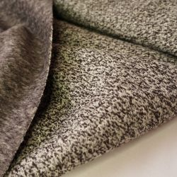 Пальтовая шерсть коричневый меланж 20-4