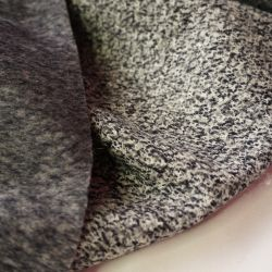 Пальтовая шерсть серый меланж 20-3