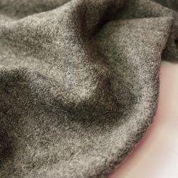 Пальтовая шерсть серый меланж 20-9