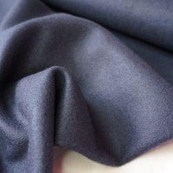 Пальтовая шерсть синий антрацит 20-1