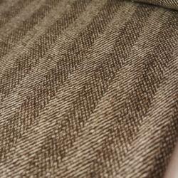 Пальтовая шерсть темно коричневая елочка 20-14