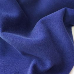 Пальтовая ткань индиго 20-8