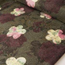 пальтовые ткани темно серый рисунок 10