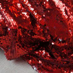 Пайетки красные и серебро  59