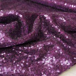 Пайетки фиолетовые 20-32