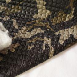 Курточная стеганая ткань милитари на синтепоне 20-2