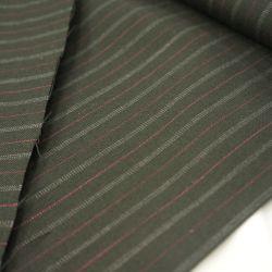 Шерсть костюмная черная полоска